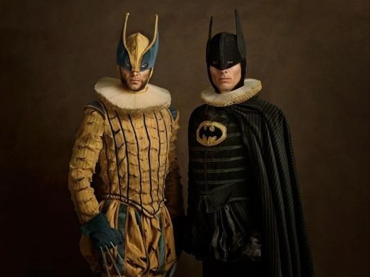 BATMAN & WOLVERINE