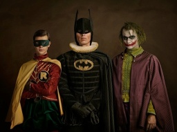 BATMAN & ROBIN & JOKER